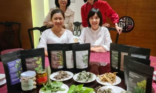马来西亚《大橙传媒》以及旗下中国商报《创投时代VC News》, 联合专访Herbeco 爱源森公司兩位联合创办人 ~ Stella 姜秋菱与Felicia叶洁明