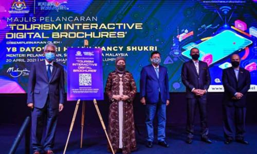 大马旅游局推介 互动数码宣传手册