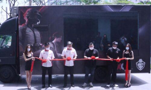 XOX推出最大立体影相移动卡车 被列入《马来西亚纪录大全》
