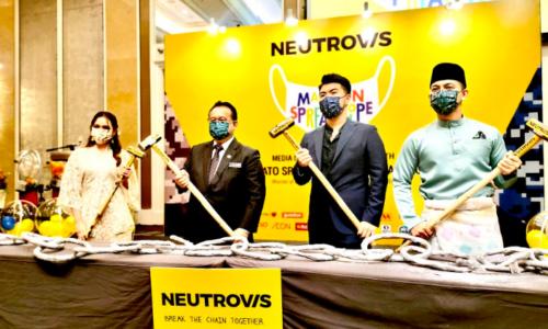 """本土品牌 Neutrovis口罩公司 推介""""戴口罩,迎希望""""运动"""