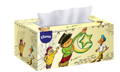 Kleenex 再与 Datuk Lat 携手 鼓励国人在斋戒月保持柔和